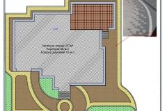 дизайн двору з бруківки - 2d