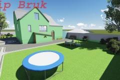 візуалізація двору - 3Д