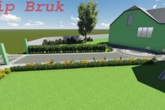 вїзд з бруківки - 3Д