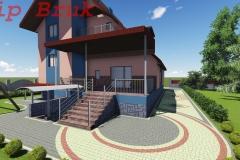 дизайн проект двору - 3Д