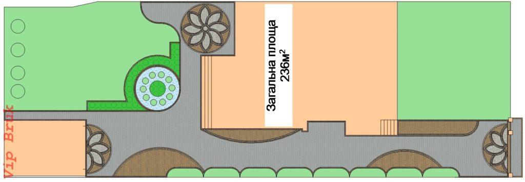 Дизайн з бруківки Старе місто